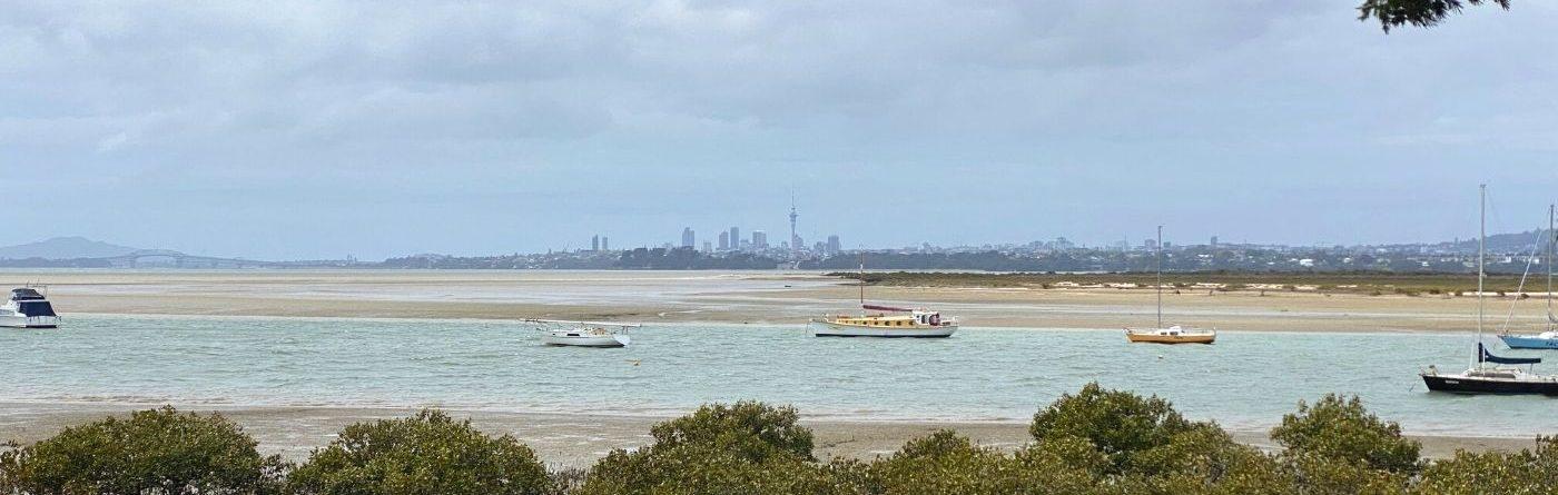 Caminhada em Auckland – Harbour View Beach Reserve